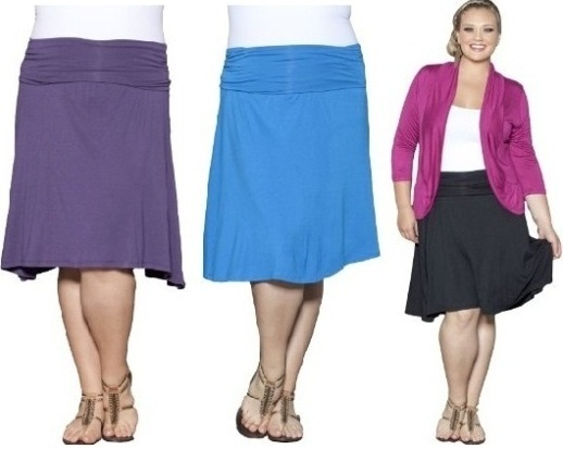 Plus Size Skirts and Perfect Flaw Covering Styles | Sera-Fox.c