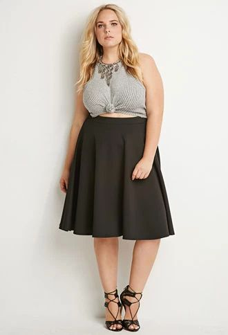 5 flattering black skirts for plus size women - Page 2 of 5 .