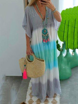 Justfashionnow Women Dresses Plus Size Maxi Dresses Gradient .