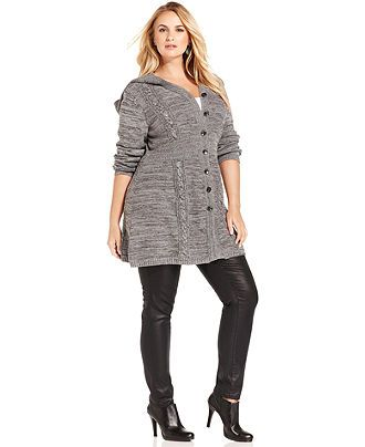 plus size tunic sweaters 01224420 | The Cute Styl