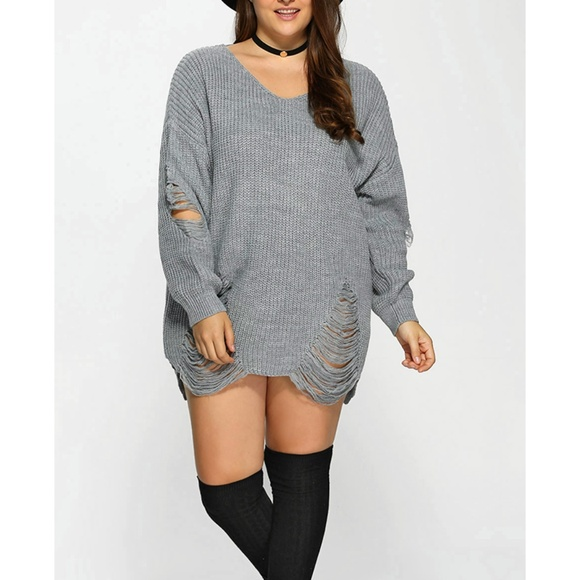 Unknown Label for Curves Collection Sweaters | Plus Size .