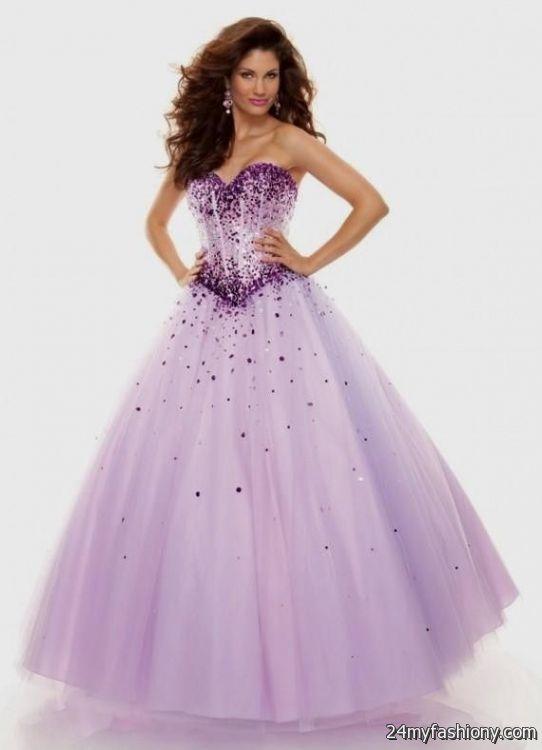 Pulple Poofy Prom Dresses – Fashion dress