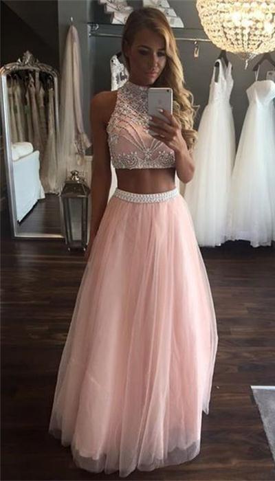 Prom Dresses,Pretty Prom Dress,Pink Prom Dress,Long Prom Dresses .