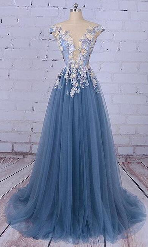 Tulle Prom Dress,Cheap Prom Dress,Unique Prom Dresses,Princess .