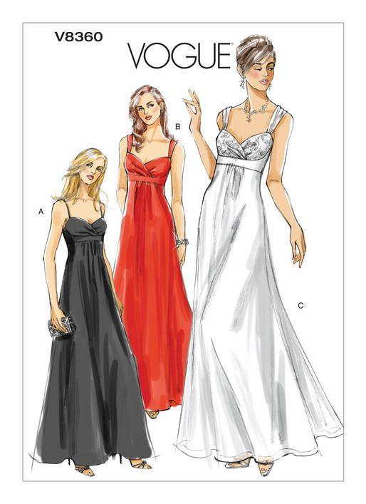 Prom Dress Patterns Vogue | Weddings Dress