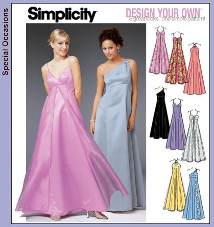 Simplicity Dress Patterns | Patterns › Simplicity › 5096 Formal .