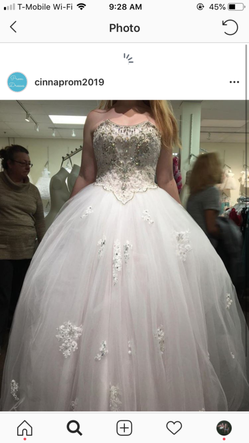 Prom Craziness Building with Creation of Prom Dress Page on .