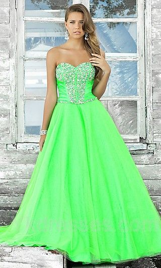 Wanna make a statement this year at prom? Let your dress do the .