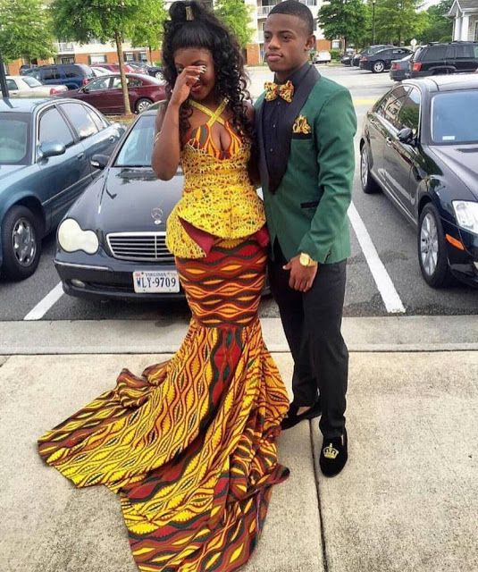 Fashion Trends: 2016 Afrocentric Prom Styles | African prom .