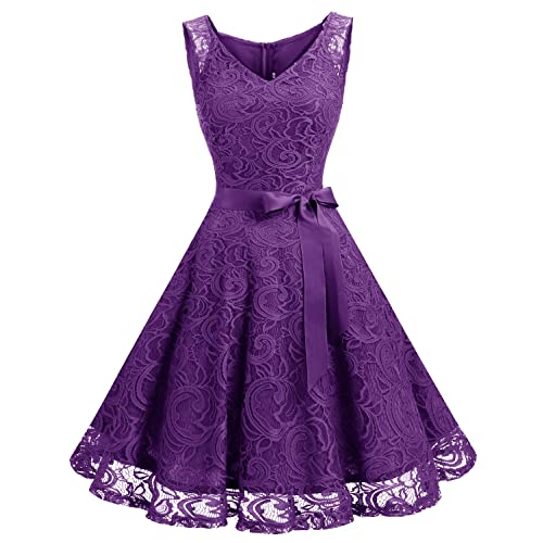 Purple Dress Juniors: Amazon.c