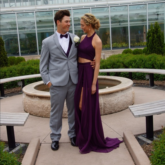 Jovani Dresses   2018 Purple Prom Dress   Poshma