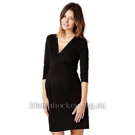 Women's Maternity clothing - Red Herring Maternity Black Jersey .