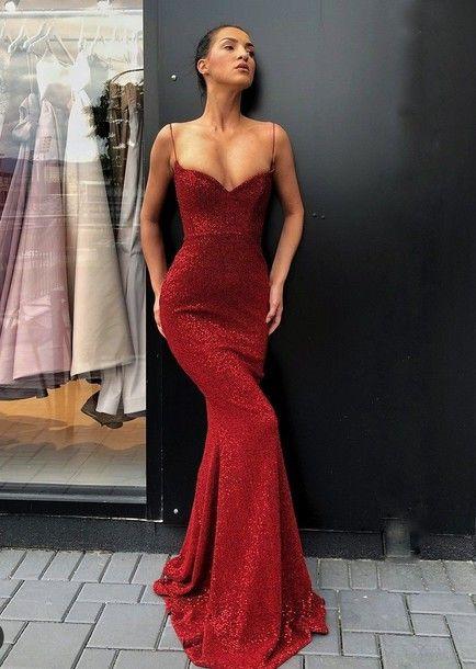 Dress, classy, red, red dress, sparkly dress, bodycon dress, prom .