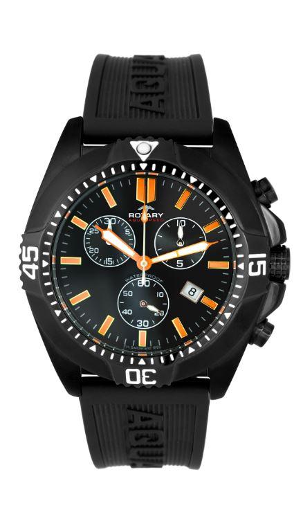 Gent's Rotary Aquaspeed Chronograph Watch - Roy Hancocks Watch .