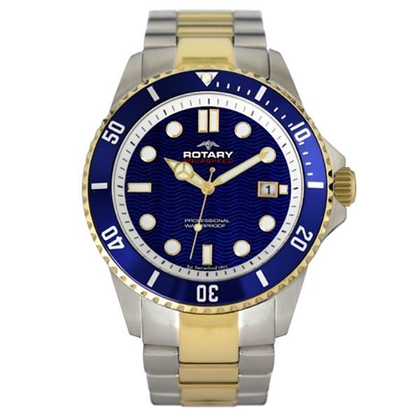 Rotary Aquaspeed Two Tone Bracelet Watch AGB00027/W/05  Jewellers A