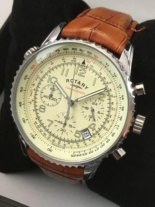 "ROTARY ""Chronospeed Chronograph"" – men's dress watch – 2017 - Catawi"