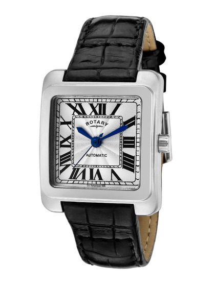 Women's Square Automatic Watch (With images) | Casual watches .