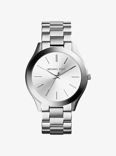 Slim Runway Silver-tone Watch | Michael Ko