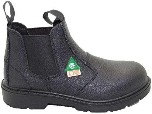 Amazon.com: DOLPHIN D5 US Standard Approved, Leather, Safety Shoes .