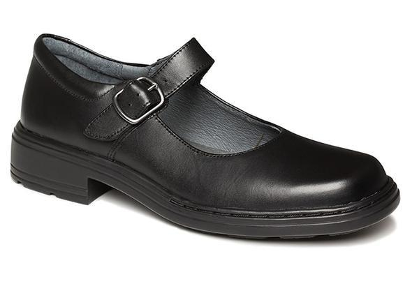 NEW CLARKS INTRIGUE JUNIOR GIRLS BLACK LEATHER SCHOOL SHOES | eB