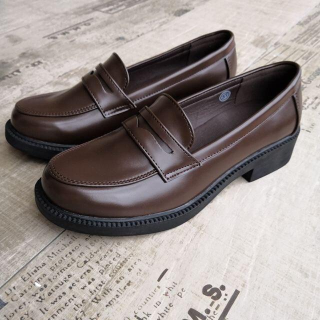 Japanese Black Brown School Shoes – Kuru Sto