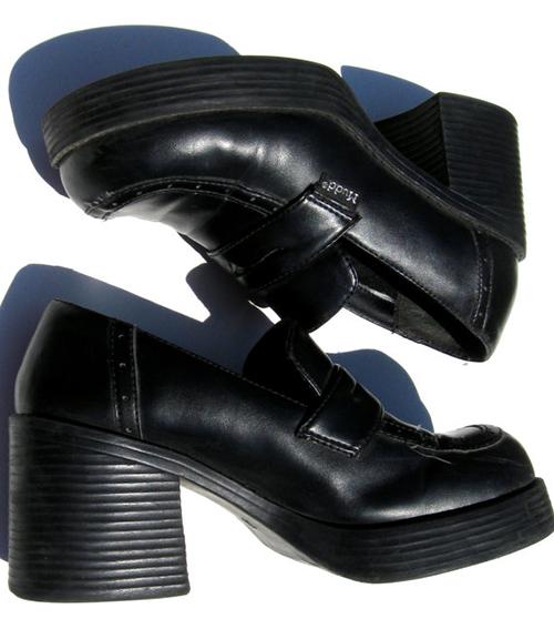 1990s childhood memories - platform school shoes were the must .