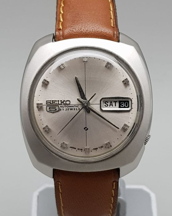 Seiko - 5 Automatic 21 Jewels Men's (No Reserve Price) - 6119-7080 .
