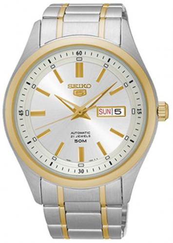 Seiko SNKN92K1 5 Automatic 21 Jewels Men's Elegant Watch .