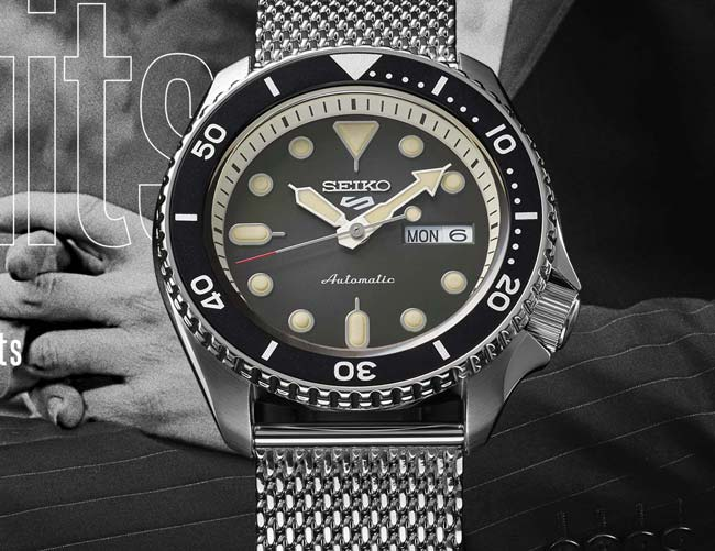 The Affordable, Mechanical Seiko 5 Watch Is Back • Gear Patr