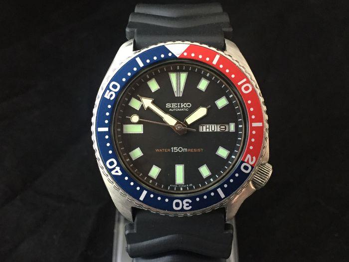 "SEIKO 6309-729A ""Pepsi"" Diving watch – February 1977 - Catawi"
