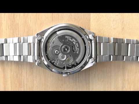 Seiko 5 Automatic Mechanical Watch Movement 7S26 - YouTu