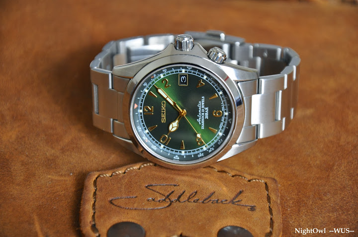 Seiko Alpinist came in tod