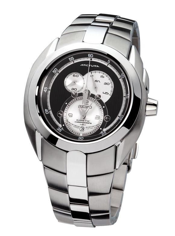 Seiko Arctura Kinetic Chronograph Watch SNL047P1 | Seiko arctura .