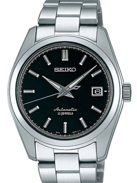 Seiko Black Dial Automatic Dress Watch with 38mm Case, and .