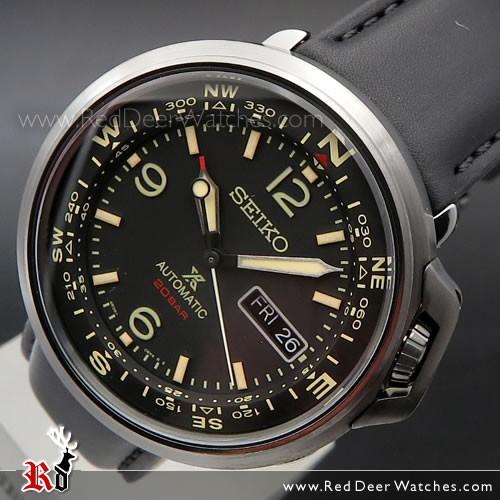 BUY Seiko PROSPEX Field Automatic Leather Watch SRPD35K1, SRPD35 .