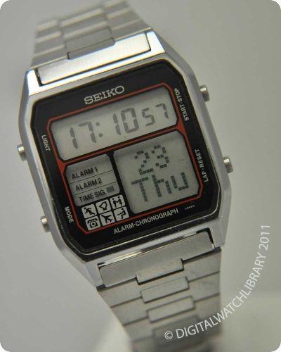 SEIKO - D138-4000 - Digital - Vintage Digital Watch - Digital .
