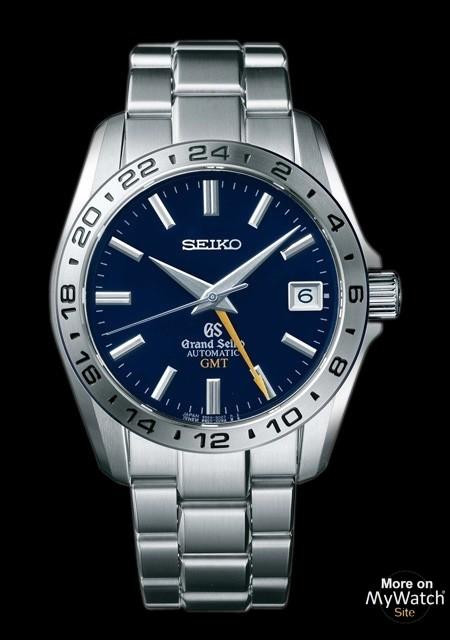 Watch Seiko Grand Seiko GMT | Grand Seiko SBGM029 Steel - Steel .