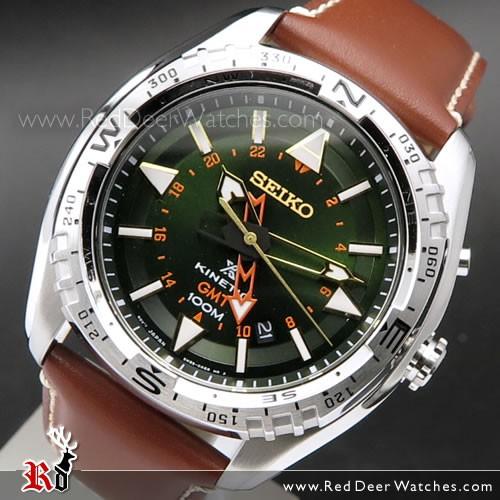 BUY Seiko Prospex Land Kinetic GMT 100M Mens Watch SUN051P1 .