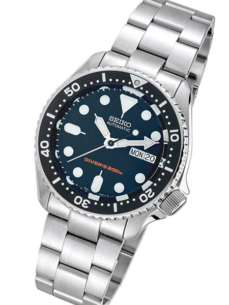 SKX007 Seiko Automatic Divers Watch Super Jubilee Oyster Edition .