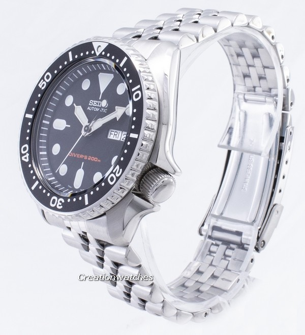 Seiko SKX007K2 Automatic Divers Men's Wat