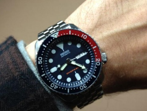 Seiko SKX009 nice and best dive mens watch | Men Watches Sh