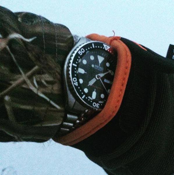Seiko] SKX009 my outdoorsman watch. : Watch