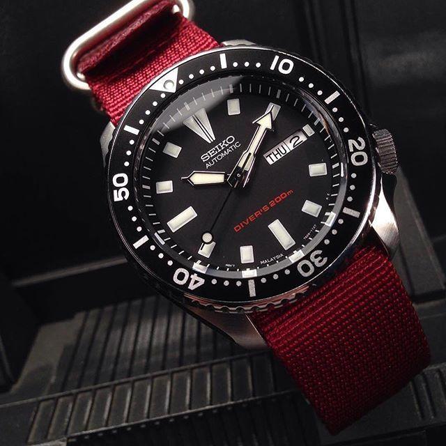 Seiko - Skx173 matches the Diver's 200m on the dial | Seiko .