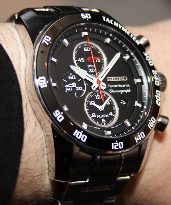 Seiko Sportura Chronograph Watches