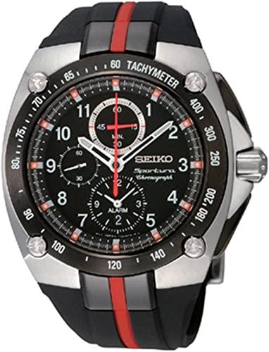 Amazon.com: Seiko Men's SNAE07 Sportura Chronograph Watch: Seiko .