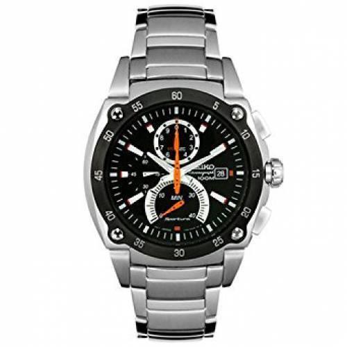 Seiko Men's SPC001 Sportura Retrograde Chronograph Watch for sale .