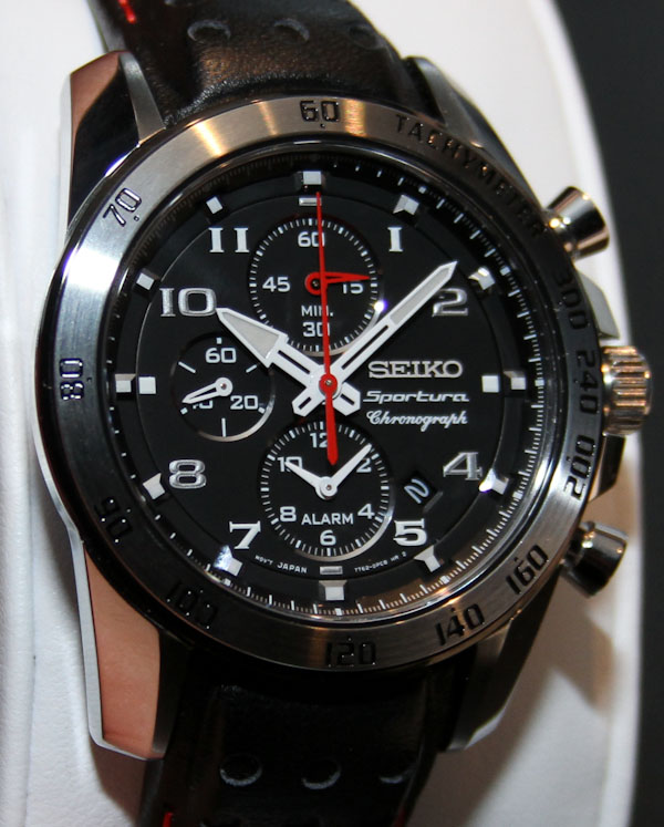 Seiko Sportura Alarm Chronograph Watch Hands-On | aBlogtoWat