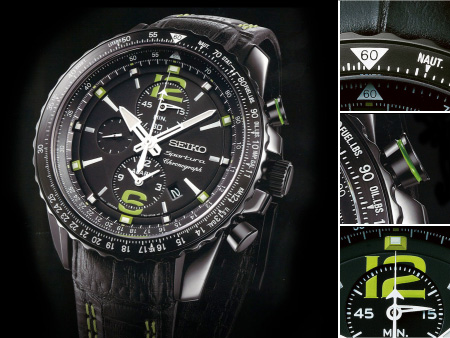 Baselworld 2012 – Seiko Expended its Sportura Collection with .
