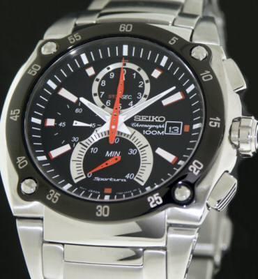 Sportura 1/100sec Chronograph spc001 - Seiko Sportura wrist wat