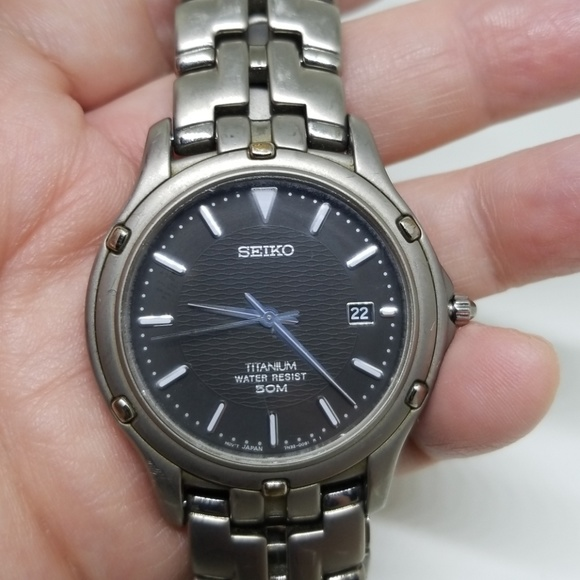 Seiko Titanium Watches